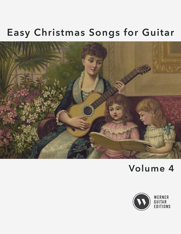 Easy Christmas Songs for Guitar Volume 4