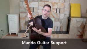 Mundo Guitar Support and Strap