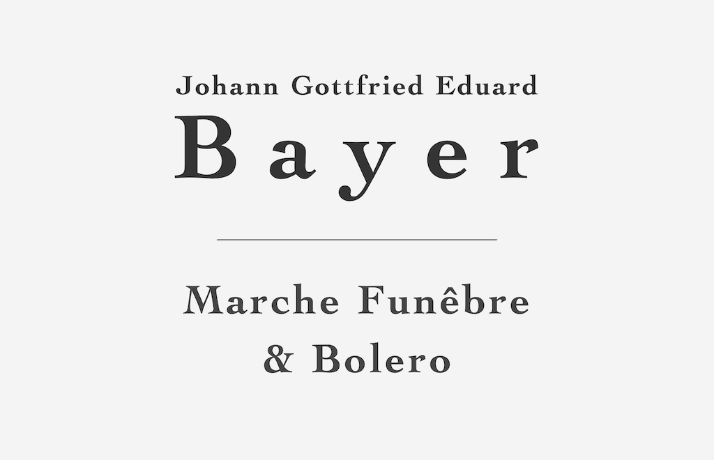 Marche Funêbre and Bolero by Bayer (Free PDF Sheet Music)