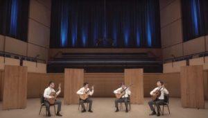 Canadian Guitar Quartet Play Roux