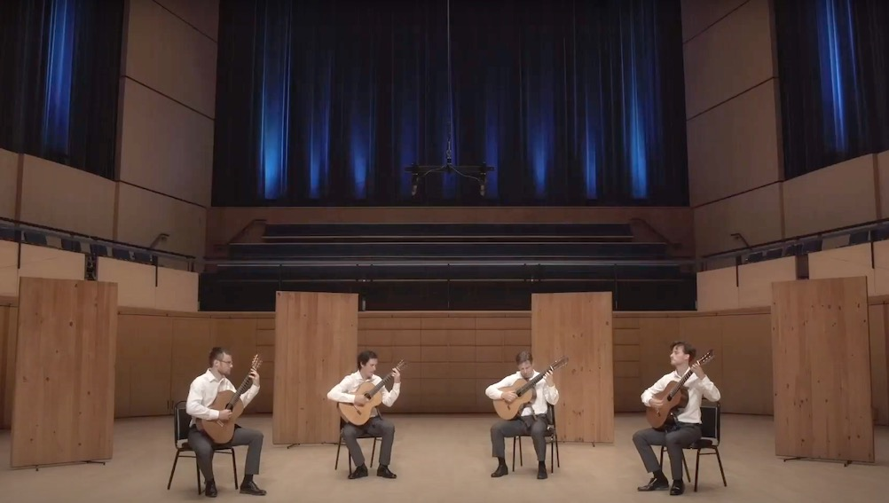 Canadian Guitar Quartet Play Roux