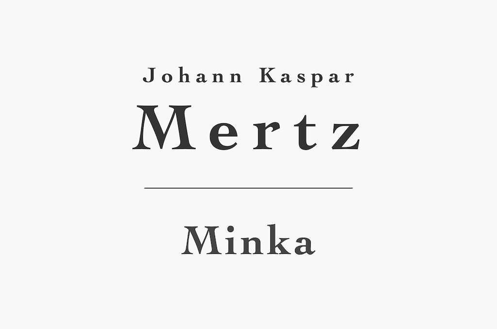 Minka by Mertz for Classical Guitar