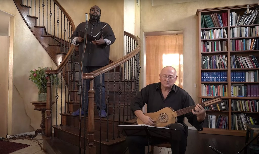 Reginald Mobley and Stephen Stubbs Perform Purcell