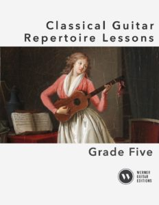 Classical Guitar Repertoire Lessons Grade 5