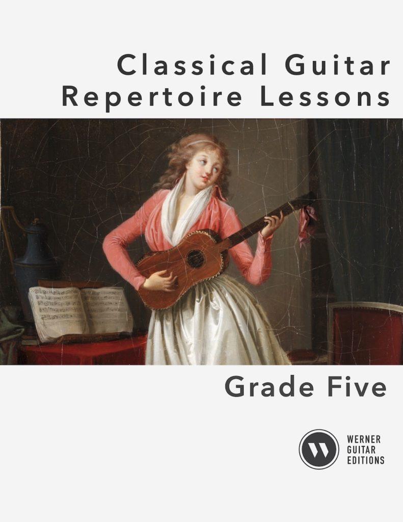 Classical Guitar Repertoire Lessons Grade 5