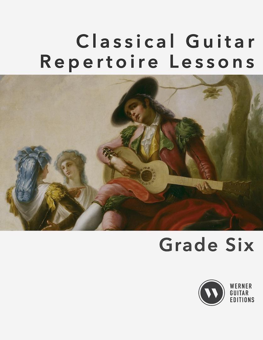 Classical Guitar Repertoire Lessons Grade 6