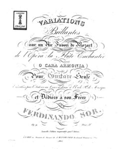 Introduction and Variations on a Theme by Mozart, Op. 9,