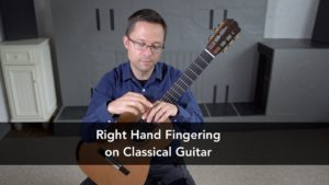 Right Hand Fingering Lesson