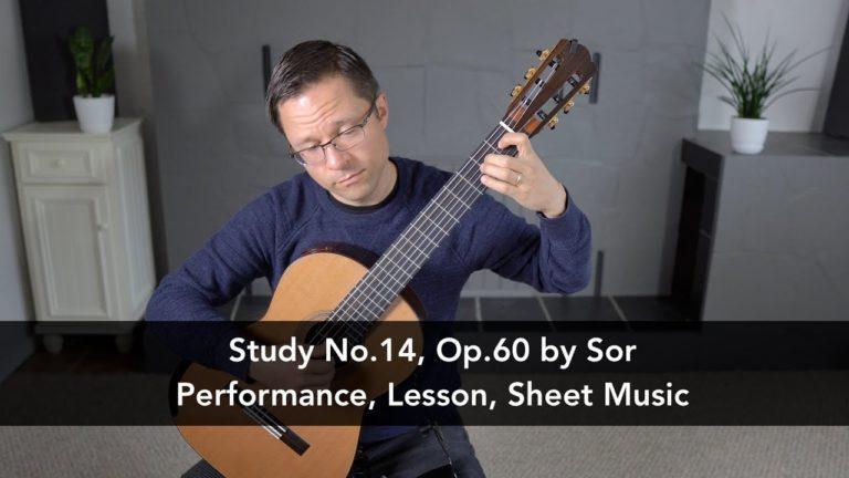 Study No.14, Op.60 by Fernando Sor